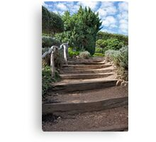Ties Into Steps Canvas Print