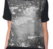 Splatter Abstract Chiffon Top