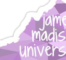 James Madison University - Geometric, Written-out Sticker