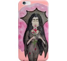 The Witch in Black- Addams  iPhone Case/Skin