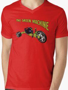 The Green Machine Mens V-Neck T-Shirt
