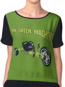 The Green Machine Chiffon Top