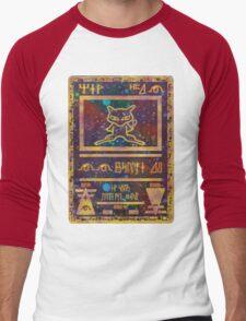 ANCIENT MEW - Pokemon Card T-Shirt Men's Baseball ¾ T-Shirt
