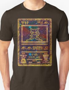 ANCIENT MEW - Pokemon Card T-Shirt Unisex T-Shirt