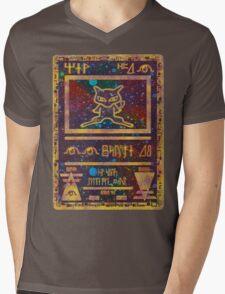 ANCIENT MEW - Pokemon Card T-Shirt Mens V-Neck T-Shirt