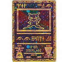 ANCIENT MEW - Pokemon Card T-Shirt Photographic Print