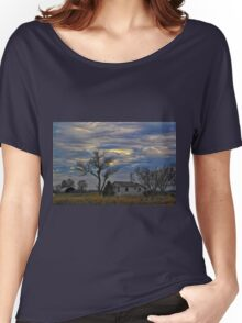 All Is Quiet in the Country Women's Relaxed Fit T-Shirt