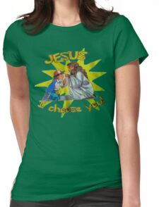 Jesus I Choose You! Womens Fitted T-Shirt