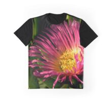 Ice Plant Flower Graphic T-Shirt