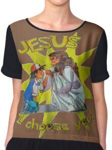 Jesus I Choose You! Chiffon Top