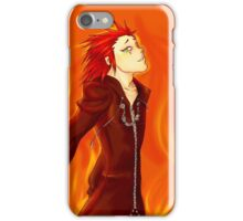 Axel- Black to Red iPhone Case/Skin