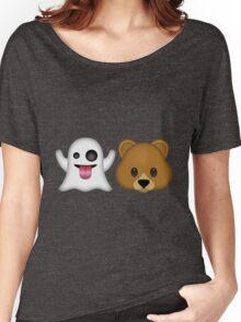 Ghost Bear 53 Emoji Women's Relaxed Fit T-Shirt