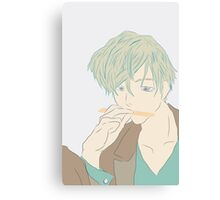 Thinking Tamaki Canvas Print