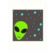 I don't believe in Humans!  Art Print