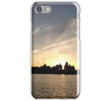 The Jacqueline Kennedy Onassis Reservoir at Sunset. iPhone Case/Skin