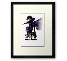 zero looking back  Framed Print