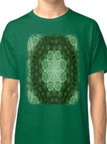 Green Stripes Kaleidoscope 2 Classic T-Shirt