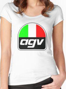 AGV helmet Italy Sunvisor Women's Fitted Scoop T-Shirt