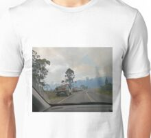Bushfire, Boco Siding, Tasmania, Australia 4 Unisex T-Shirt