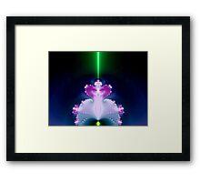 Magical Light Factal Lamp   Framed Print