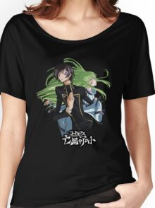 lelouch and C back to back Women's Relaxed Fit T-Shirt