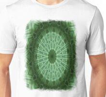 Green Stripes kaleidoscope 1 Unisex T-Shirt