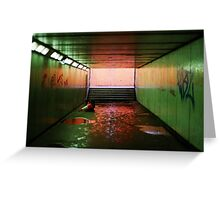 London Underpass #2  Greeting Card