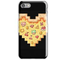 Power-Up Pixel Heart Pizza iPhone Case/Skin