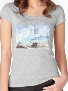 A boat, my boat Women's Fitted Scoop T-Shirt