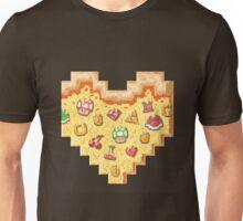 Power-Up Pixel Heart Pizza Unisex T-Shirt