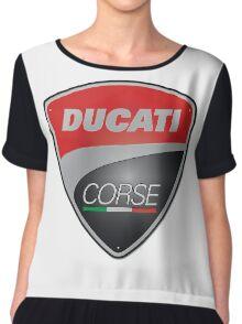 Ducati Corse Italian Superbike Chiffon Top