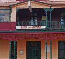 Central Hotel, Zeehan, Tasmania, Australia Sticker