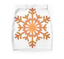 autumn snowflakes Mini Skirt