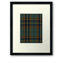 00299 Antrim County District Tartan  Framed Print