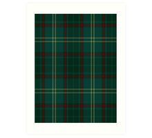00300 Armagh County District Tartan  Art Print