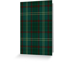00300 Armagh County District Tartan  Greeting Card