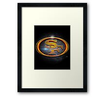 San Francisco 49ers - Men of Gold Emblem Framed Print