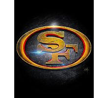 San Francisco 49ers - Men of Gold Emblem Photographic Print
