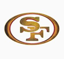 San Francisco 49ers - Men of Gold Emblem One Piece - Short Sleeve
