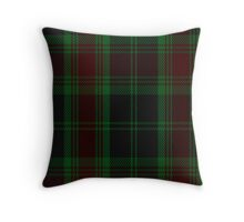 00302 Carlow County District Tartan  Throw Pillow