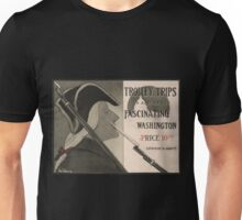 Artist Posters Trolley trips in and about fascinating Washington by Katharine M Abbott 0831 Unisex T-Shirt