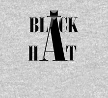 """Black Hat"" typography Unisex T-Shirt"
