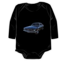 Black Ford Mustang One Piece - Long Sleeve