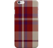 00316 Shiel, Claret (Dance) Tartan  iPhone Case/Skin