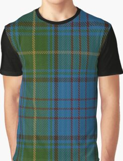 00321 Donegal County Tartan Graphic T-Shirt