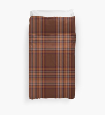 00324 Down County (District) Tartan  Duvet Cover