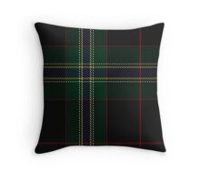00325 Downs Tartan  Throw Pillow