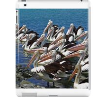 The lunch time crowd iPad Case/Skin