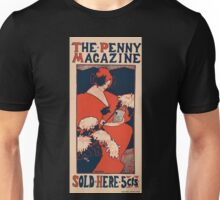 Artist Posters The penny magazine sold here 5 cts 0851 Unisex T-Shirt