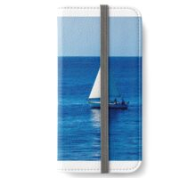 Sailboat on the Pacific iPhone Wallet/Case/Skin